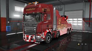 Scania Streamline: Tow Truck [Evacuator] + Fix 1.31.x | ETS2 Mods ...