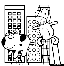 Thanksgiving Parade Online Coloring Page