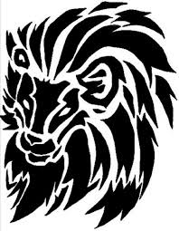 Tribal Lion Tattoo Designs For Men And Women