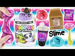 Unicorn Poopsie SLIME Surprise DIY Kit Make Sparkly Scented And Storage Keychain