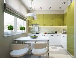 une cuisine en ville salle à manger design dans un petit appartement de ville moderne