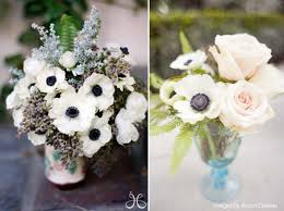 Amazing Black And White Flower Decorations Contemporary