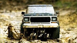 100 Ford Trucks Mudding Mudrunning With The Traxxas TRX4 Bronco Video RC Newb