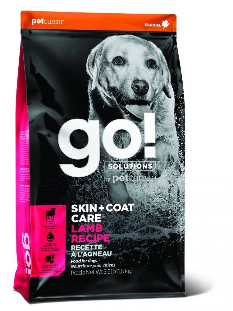 Go! Skin + Coat Dog Food - Lamb Meal Recipe, 5.4kg