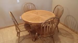 100 Oak Pedestal Table And Chairs 100 Round And Best Way To Paint