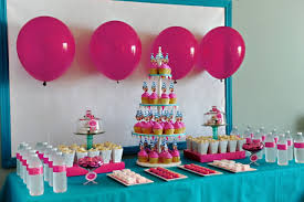 Simple Decoration Birthday Ideas Images About Table Princess And