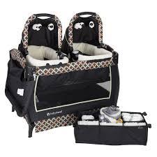 Baby Trend Circle Tech Twins Nursery Center Playard
