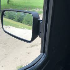 100 Side View Mirrors For Trucks Pursuit Mirror Pair Cast Aluminium 175 Round Tube