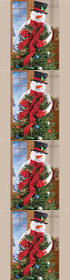 Christmas Tree Toppers Etsy by Best 25 Snowman Tree Topper Ideas On Pinterest Snowman Tree