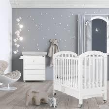 chambre bebe chambre bébé lit et commode white moon swarovski de micuna
