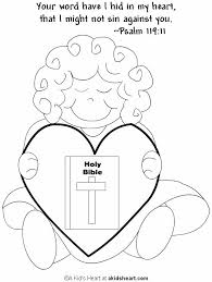 Bible Verse Coloring Page Psalm 11911