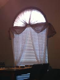 Arched Or Curved Window Curtain Rod Canada by Half Moon Window Curtain Rod 1 Hula Hoop Cut In Half 2 Plumbing