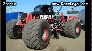 100 Time Flys Monster Truck WGAS S In The Pits San Diego County Fair 742014 YouTube