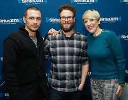 Sirius Xm Halloween Radio Station 2014 by Lisa Lampinelli In Seth Rogen And James Franco At The Siriusxm