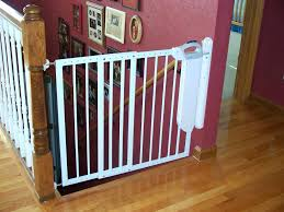 Baby Gates Banister – Carkajans.com Amazoncom Summer Infant Deluxe Stairway Simple To Secure Wood Gate For Top Of Stairs With Banister The 6 Baby Gates Regalo Extra Tall 2754 With Swing Door Ideas Mounting Hdware All The Best Multiuse Walkthru Of Metal Sure Customfit 9198 Toddler Multi Use Walk Thru White Youtube 33 In And Stair Dual Deco