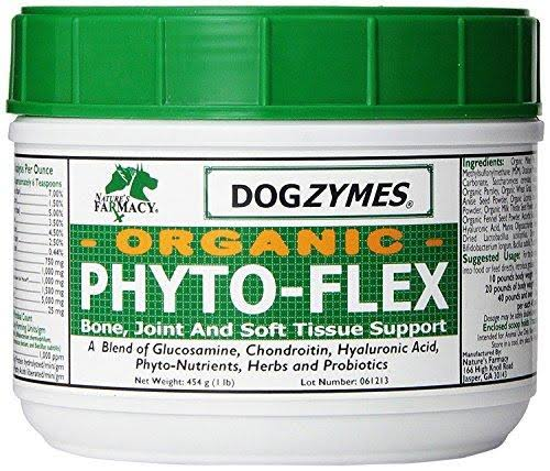 Dogzymes Phyto-flex Bone Joint and Soft Tissue Support - 1lbs