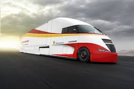 100 Truck And Tractor Pulling Games Shell Trucks Into The Future With Hyperefficient Solar