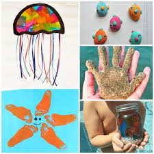 Beach Themed Crafts For Toddlers And Preschoolers Summer Fun