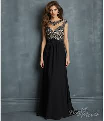 night moves by allure 2014 prom dresses black chiffon open back