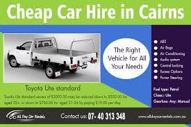 Car Rental Deals - All Day Car Rentals
