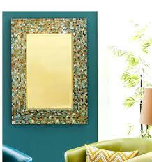 Mosaic Bathroom Mirror Diy by Crazy Mosaic Bathroom Mirrors Sunburst Mirror In Glass Mosaic
