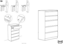 Ikea Kullen Dresser 3 Drawer by Ikea Storage Furniture Kullen Chest W 5drawers 28x44