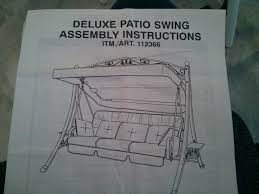 Sears Canada Patio Swing by Sling Costco Canada 112366 Basic Upgrade