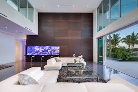 modern living room w living color aquarium wall modern