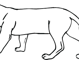 Panther Coloring Pages Black