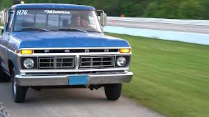 1977 Ford F150 Farm Truck Style - Drag Racing At Wisconsin ...