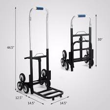 Portable Stair Climbing Folding Cart Climb Hand Truck Dolly With ...