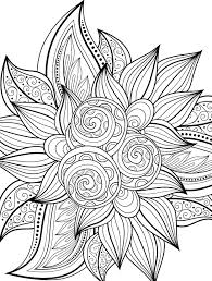 Adult Coloring Pages Within Christmas Flower