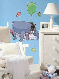 Wall Decal Winnie The Pooh by Eeyore Giant Wall Decal From Winnie The Pooh Wall2wall