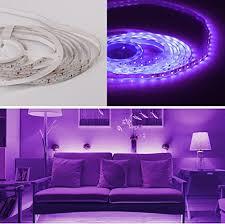 salcar wasserfest 5m led streifen set lila 300 leds lichtband mit 12v netzteil 3528 smd ip65 led kit licht band leiste lichtleiste