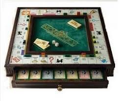 Monopoly Premier Edition Wooden Board Game Collectors