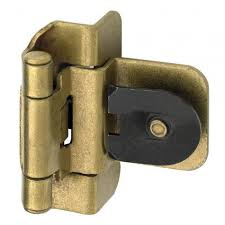 Non Mortise Cabinet Hinges Nickel by Kitchen Cabinet Latches U0026 Hinges Signature Hardware