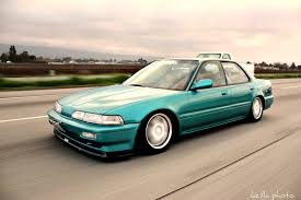 Just like my first car 1990 Integra 4 door lowered of course
