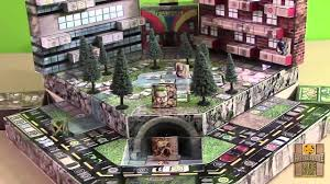 Superpowerful Bonanza 3D Comic Book Board Game Campaign