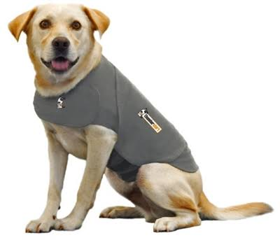 Thundershirt Dog Anxiety Treatment Wrap – Heather Gray, Medium