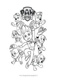 Coloring Pages Paw Patrol Corresponsablesco