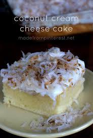 Coconut Cream Cheese Cake TGIF This Grandma is Fun