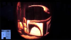 Star Wars Stormtrooper Pumpkin Stencil by Boba Fett Pumpkin Youtube