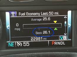 100 Trucks With Best Mpg Set A New Personal Mpg Record Today 2017 Silverado 53L