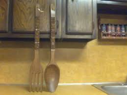 Wood Fork And Spoon Wall Hanging by Filipino Wooden Fork And Spoon Best Fork 2017