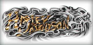 Learn Harley Davidson Tattoo Drawing Tattoos Pop Culture FREE
