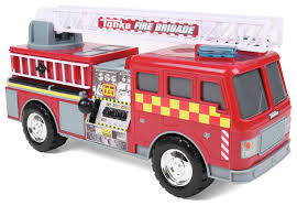 100 Tonka Mighty Motorized Fire Truck 021664077665 UPC 07766 Uk Engine Toy