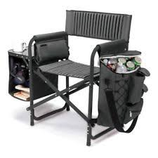Aluminum Directors Chair With Swivel Desk by Aluminum Chairs Ebay