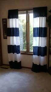 Blue Vertical Striped Curtains by Colorful Curtains Blue And White Horizontal Striped Curtains Of