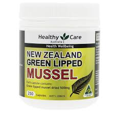 healthy care new zealand green lipped mussel 250 capsules my chemist
