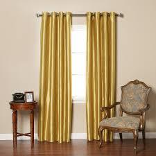 Burgundy Grommet Blackout Curtains by Striped Dupioni Faux Silk Grommet Top Blackout Curtain 84 L Best